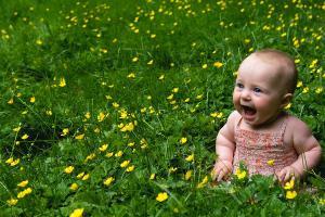 baby in joy