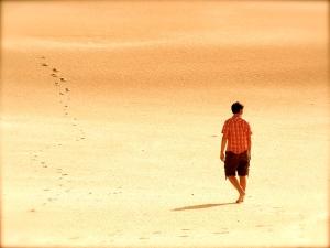 what2believe walking on desert