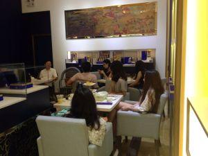 廣州茶聚 回答問題的環節