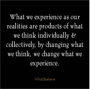 Change what we think