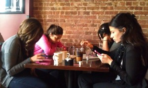 busy phone users